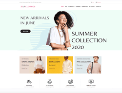 Joomla! 3 HikaShop Template  - LT Clothes Shop