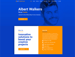 Profile Joomla! 3 Template - LT Profile