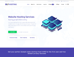 Hosting Joomla Template - LT Hosting