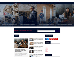 Magazine Joomla Template - LT News