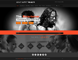 Responsive Joomla! Template - Entertainer PT