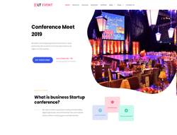 Entertainment Joomla Template - LT Event