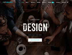 Joomla! 3 Template - LT Gravity