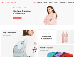 Fashion Joomla Template - LT Fashion