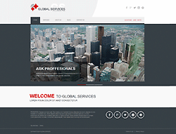 Joomla! Business Template - 002071