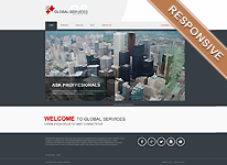 Joomla Template - Global Services