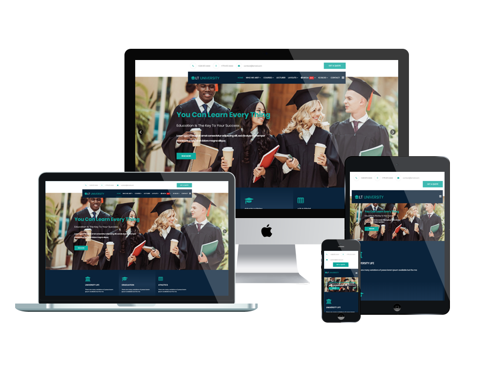 LT University Joomla template
