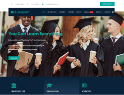University Joomla Template - LT University