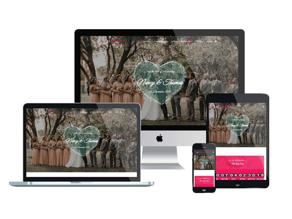 LT Wedding Joomla template