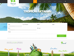 Joomla! 2.5 - 3 Template - Travel PT