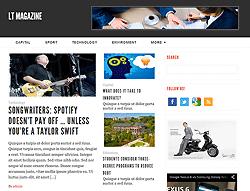 WordPress Theme - LT Magazine