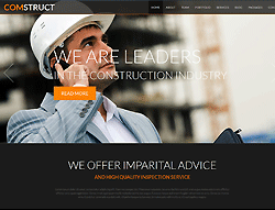 Construction Joomla! Template - 002070