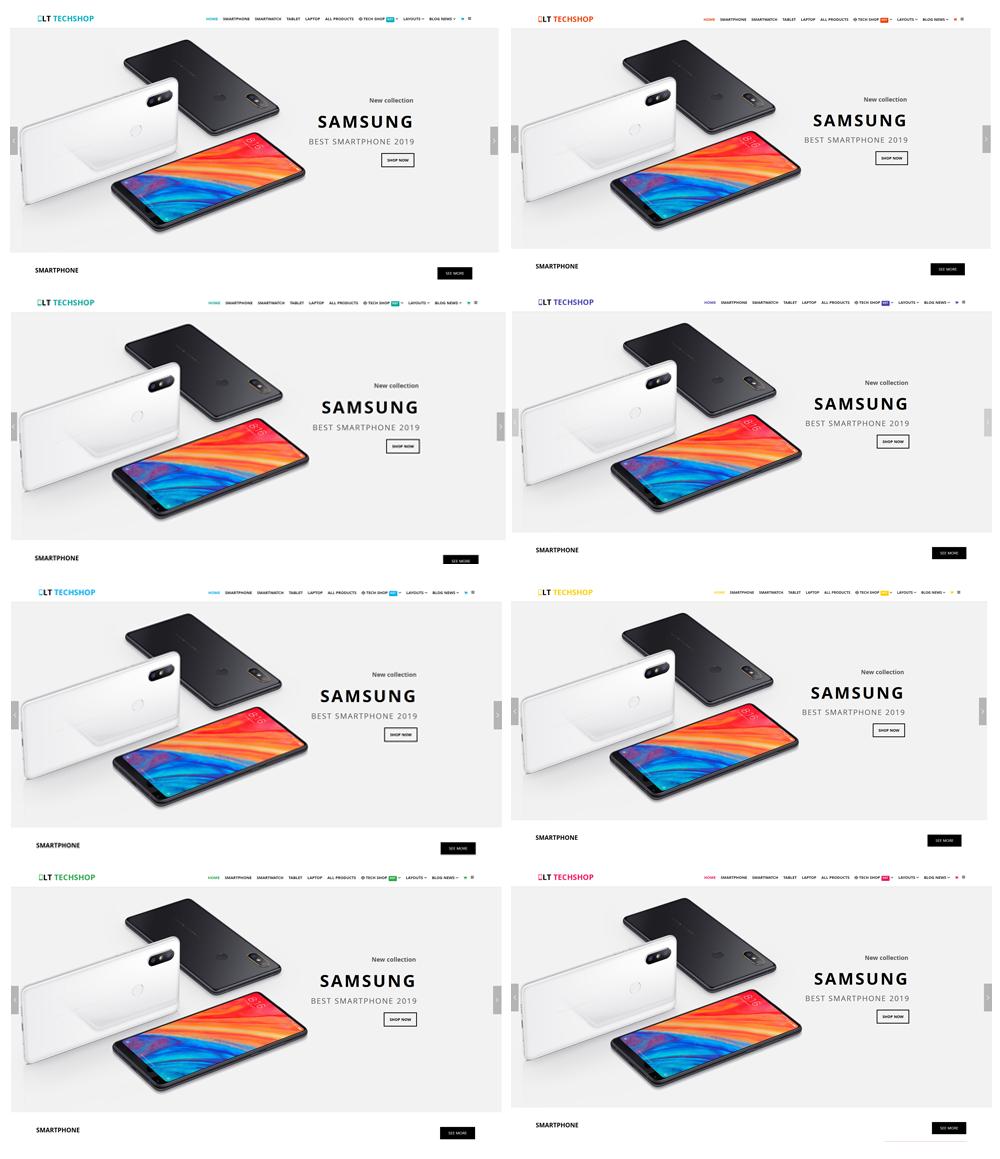 LT Tech Shop Joomla template