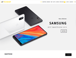 Tech Shop Joomla Template - LT Tech Shop