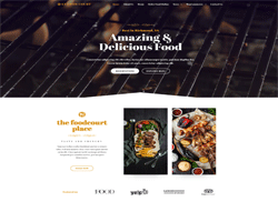 Food Joomla Template - LT Food Court