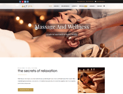 Beauty Joomla Template - LT Spa