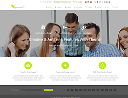 Joomla! 3 Template - CS Vigorous