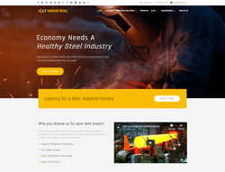 Industrial Joomla Template - LT Industrial