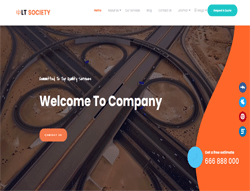 Society Joomla! 3 Template - LT Society