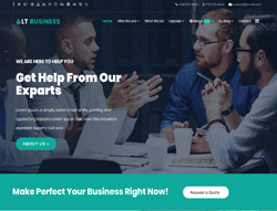 Corporation WordPress Theme - LT Business