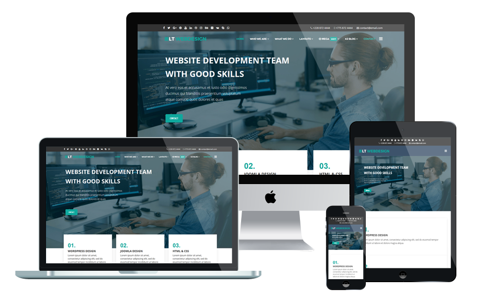 LT Web Design - WordPress Theme