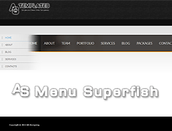 Joomla! 3 Extension - AS Superfish Menu