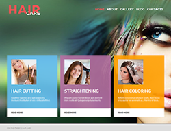 Hair Care Joomla! Template - 002074