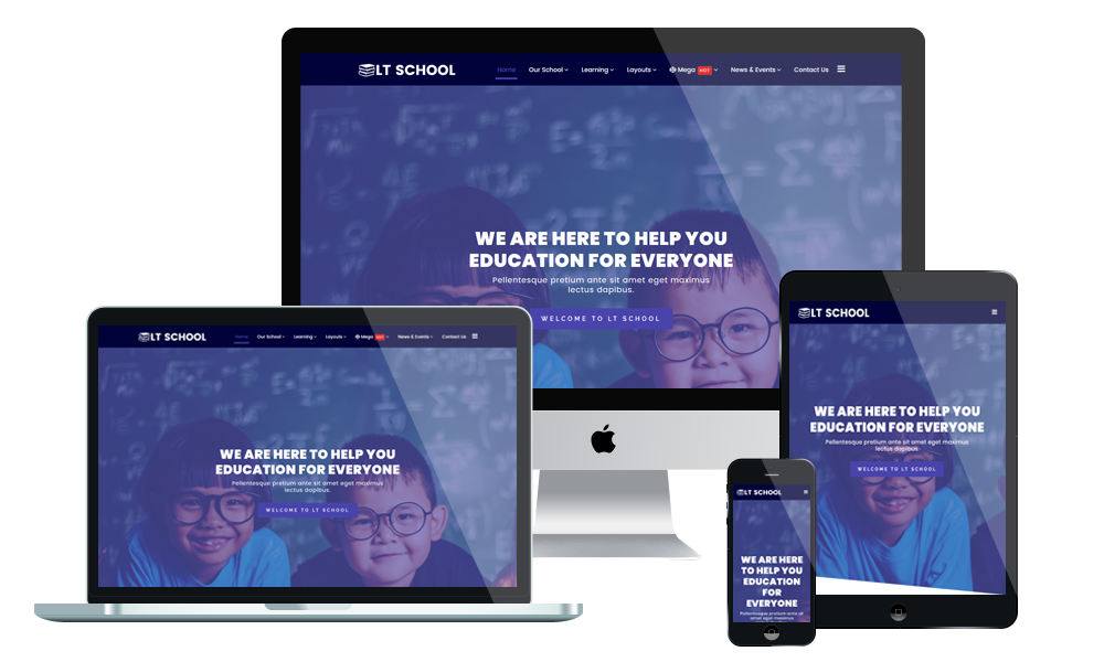 LT School - WordPress Theme