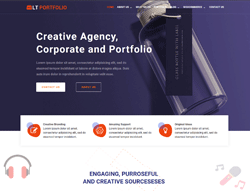 Portfolio WordPress Theme - LT Portfolio