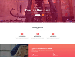 WordPress Theme - LT Pro Business