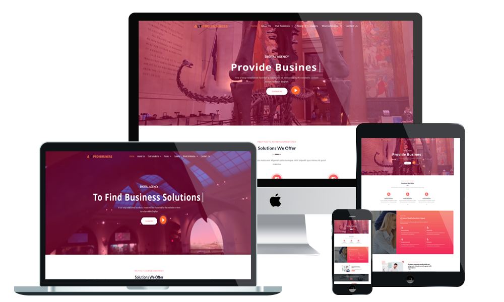 LT Pro Business - WordPress Theme