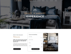 WordPress Theme - LT Hotel