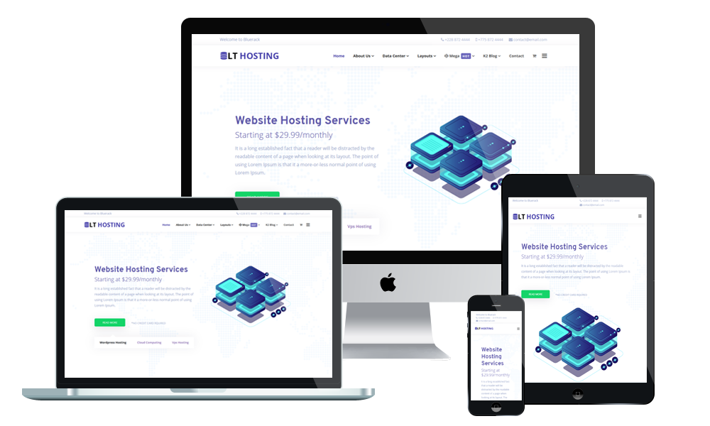 LT Hosting - Hosting WordPress Theme