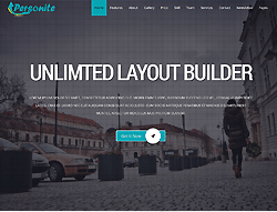 Joomla! 3 Template - Personite