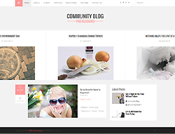 Joomla! 3 Template - Community PT