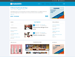 Joomla! 3 Template - Magazinite