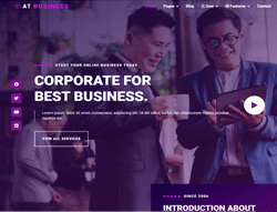 Corporate Joomla Template - AT Business
