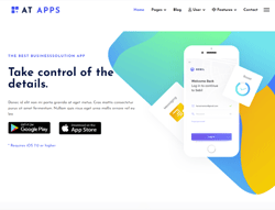 Joomla! 3 Template - AT Apps