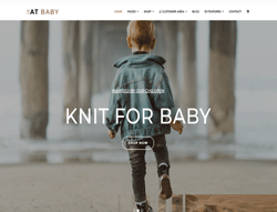 Kids Store Joomla Template - AT Baby