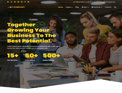 Business Joomla Template - AT Company
