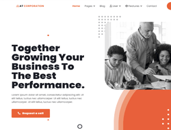Joomla! 3 Template - AT Corporation