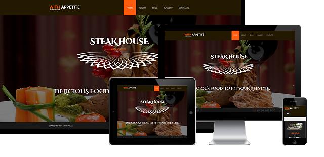 002079 - Joomla! Restaurant Template
