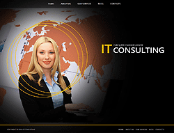 IT Consulting Joomla! Template - 002080
