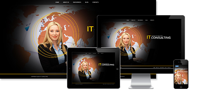 IT Consulting Joomla Template