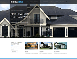 Estate Joomla Template - AT Real Estate