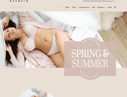 Joomla! 3 Template - AT Lingerie