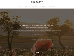 WordPress Theme - Photoite