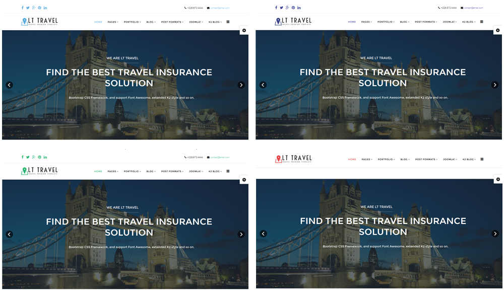 LT Travel Joomla template