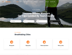 Travel Joomla Template - LT Travel