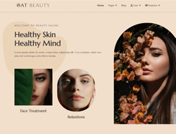 Beauty Joomla Template - AT Beauty